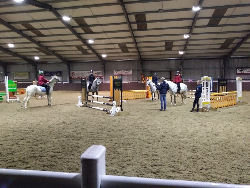 Show Jumping Lesson at Northcote with Andrew Millin
